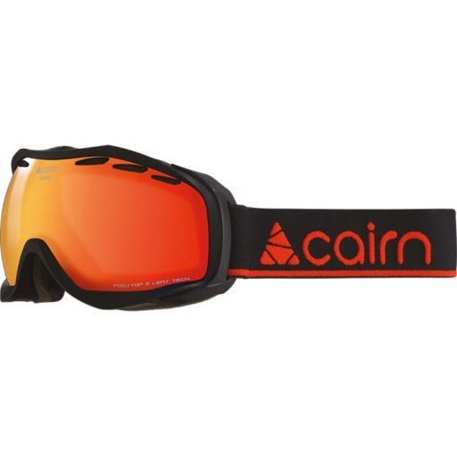 cairn-alpha-spx3000-ium-mat-black-orange-mirror masque ski beau temps