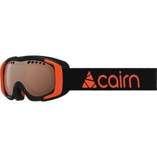 cairn-booster-photochromic-mat-black-neon-orange masque ski junior photochromique