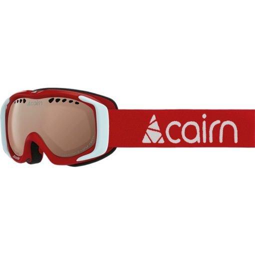 cairn-booster-photochromic-mat-red-mat-white masque ski junior photochromique