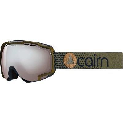cairn-mercury-spx3000-mat-khaki-silver masque ski ecran panoramique
