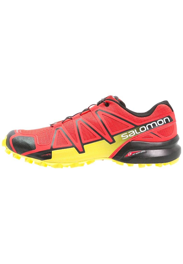 Homme Salomon Speedcross Radiant 4 Trail RedChaussure 4cjRq35AL