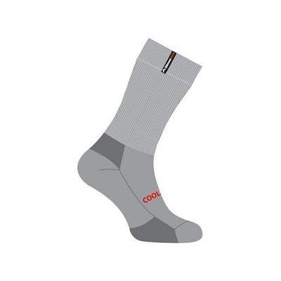 elementerre-notos-chaussette-de marche-grise