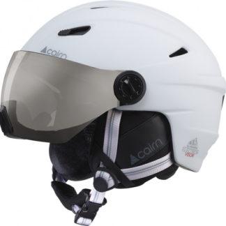 cairn-electron-visor-mat-blanc-casquette-ski-adulte-2018