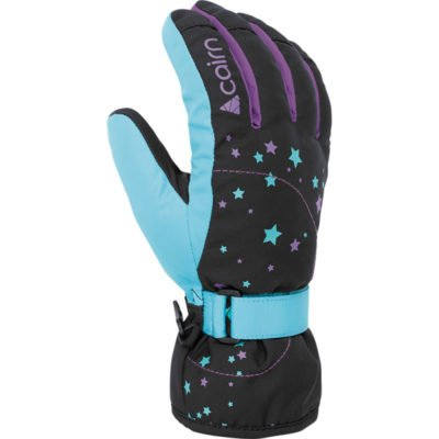 cairn-madison-j-black-turquoise-gant-de-ski-junior