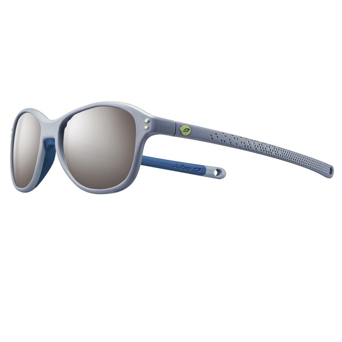braderie prix le plus bas complet dans les spécifications Julbo Boomerang Gris Foncé/Bleu SP3+, lunette de soleil enfant 4-6 ans.
