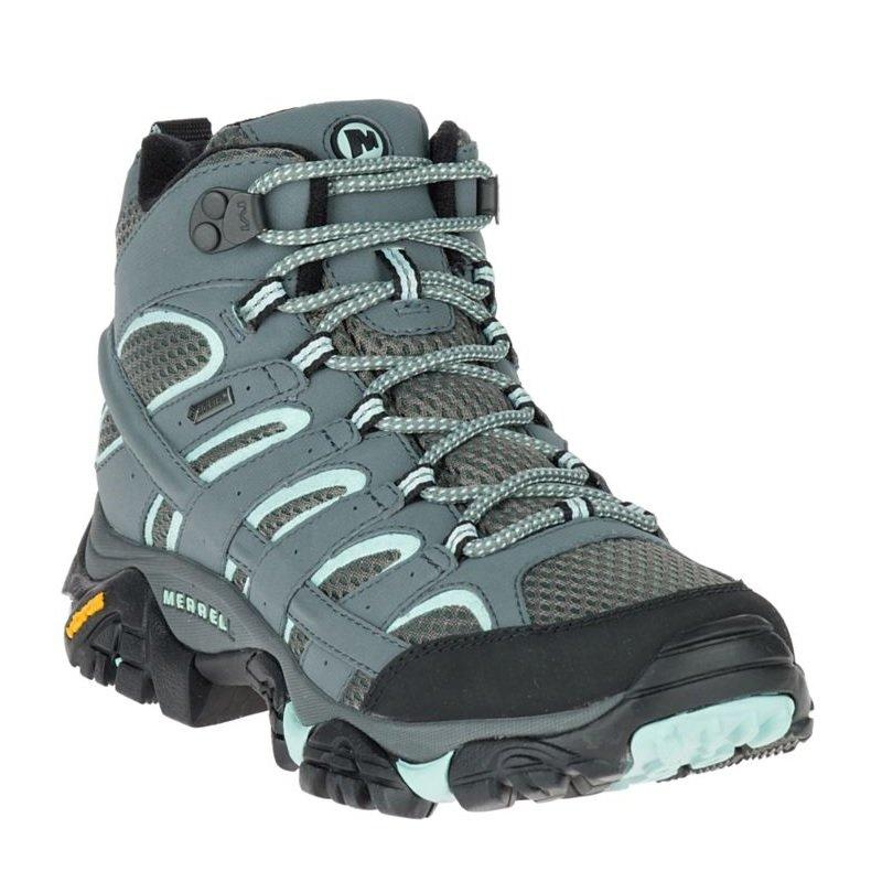 grossiste 9f3e9 6fbf0 Merrell Moab 2 Mid GTX ws, chaussure de marche souple femme.