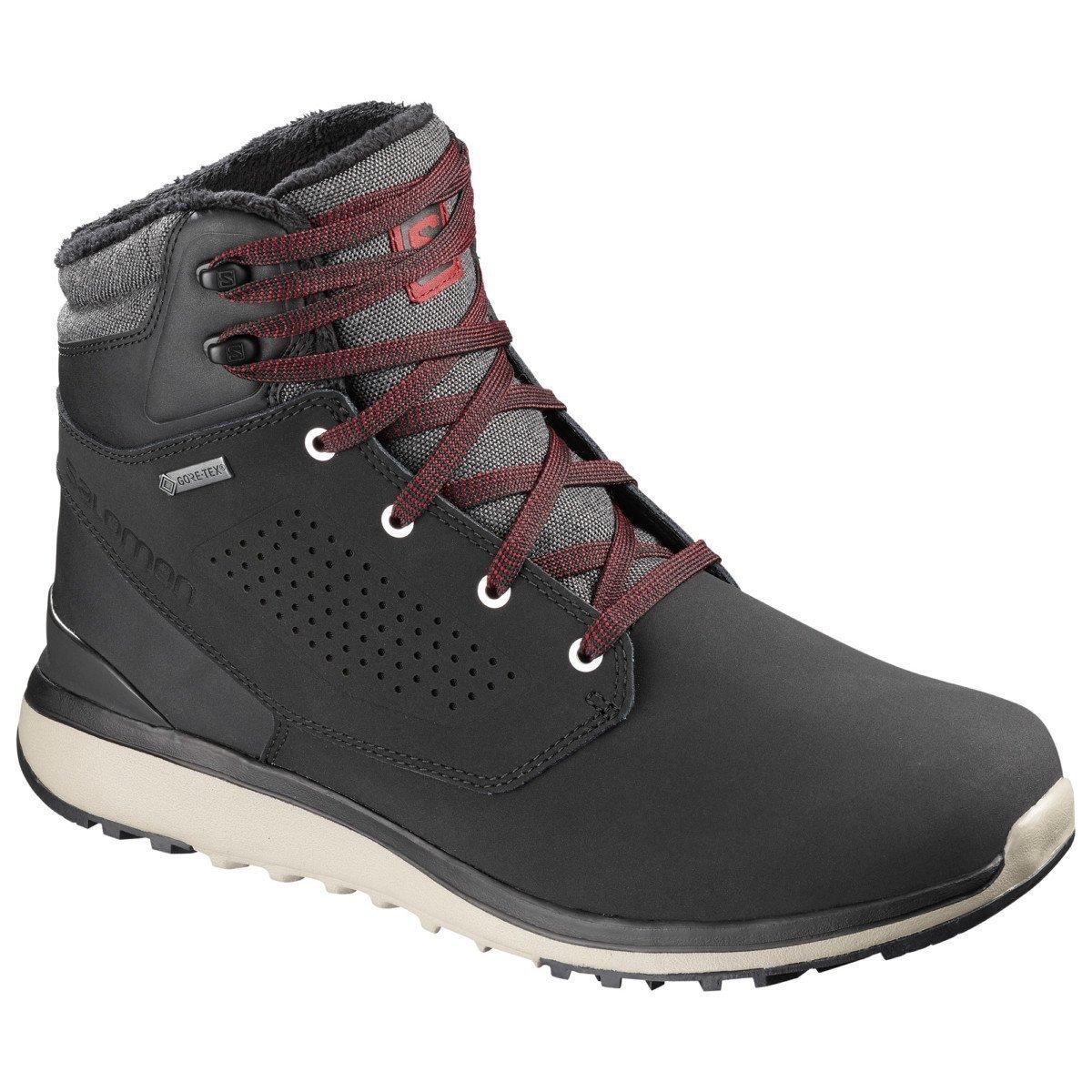 Salomon Utility Winter CS WP, chaussure d'hiver chaude et imperméable homme.