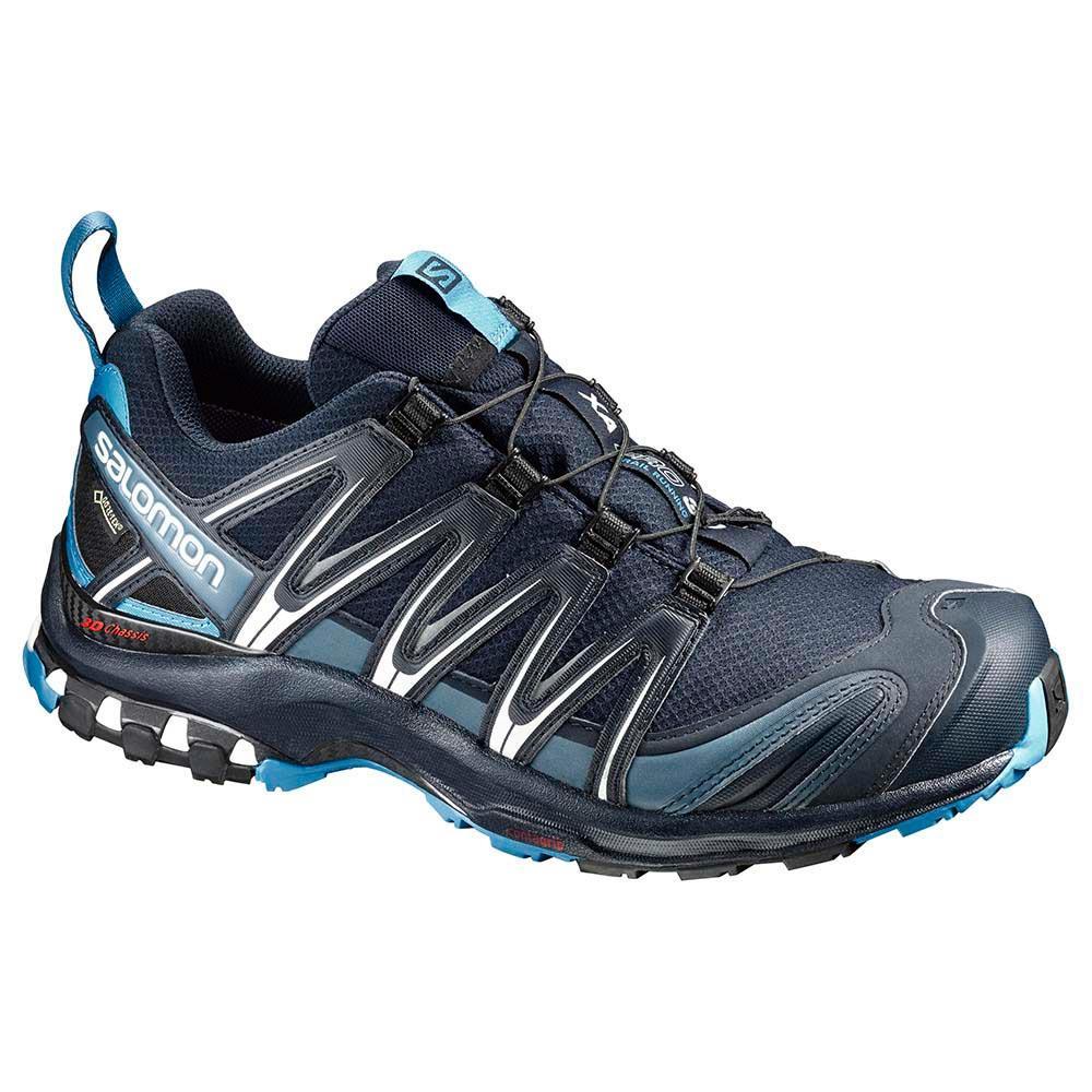 Détails sur Salomon XA Pro 3D GTX Navy Bleu, chaussure de trail homme.