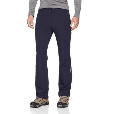 pantalon de randonnée hivernale softshell femme. Icepeak Kinsley anthracite