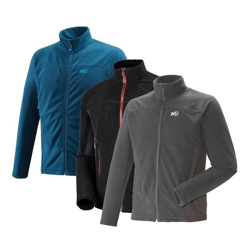online store c3f68 48269 Details about Millet Vector Grid Jacket, Fleece Jacket Man