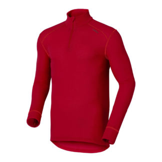 odlo-originals-warm-man-ml--zippe-rouge-maillot-thermique-homme