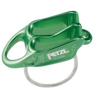 petzl-reverso-assureur-descendeur-escalade-vert
