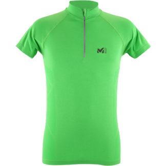 millet-miv8275-8736-tee-shirt-manches-courtes-homme-trail-flash-vert-ltk-seamless-light-zip-ss-