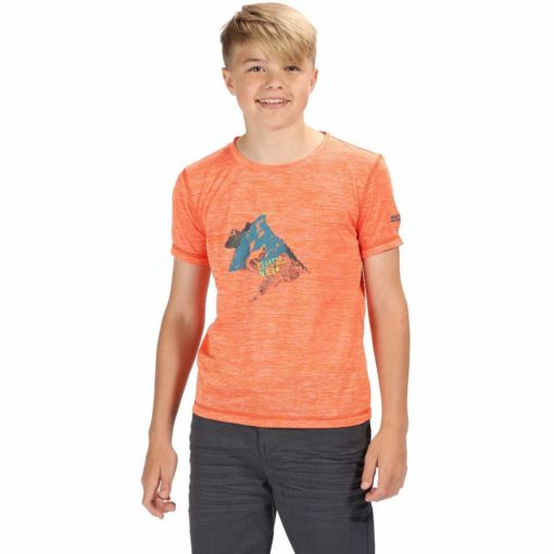 regatta-alvaradoIV-orange-t-shirt-garcon-1