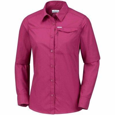 columbia-silver-ridge2.0-ml-chemise-randonnee-femme