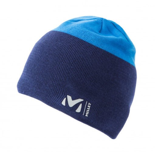 millet-freeride-beanie-bleu-depths-electric-bleu-bonnet-homme