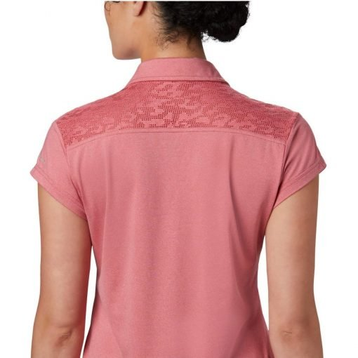 columbia-peak-to-point-II-polo-rouge-pink-heather-polo-technique-femme-4