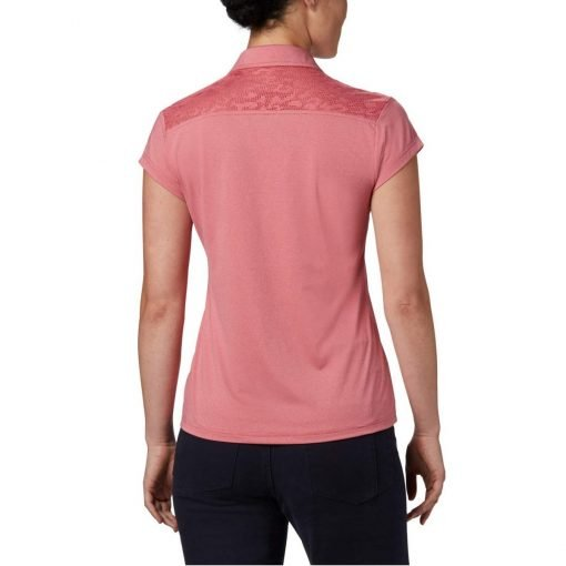 columbia-peak-to-point-II-polo-rouge-pink-heather-polo-technique-femme-5