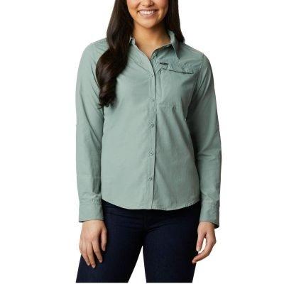 columbia-silver-ridge-2.0-shirt-light-litchen-chemise-randonnee-ml-femme-1