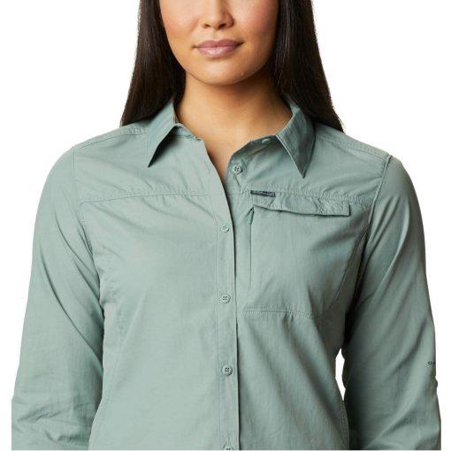 columbia-silver-ridge-2.0-shirt-light-litchen-chemise-randonnee-ml-femme-4