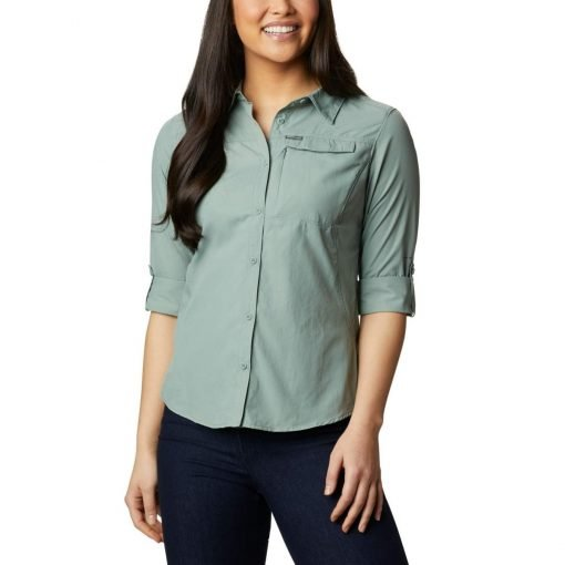 columbia-silver-ridge-2.0-shirt-light-litchen-chemise-randonnee-ml-femme-6