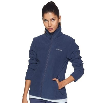 columbia-fast-trek-ii-jacket-nocturnal-veste-polaire-femme-1