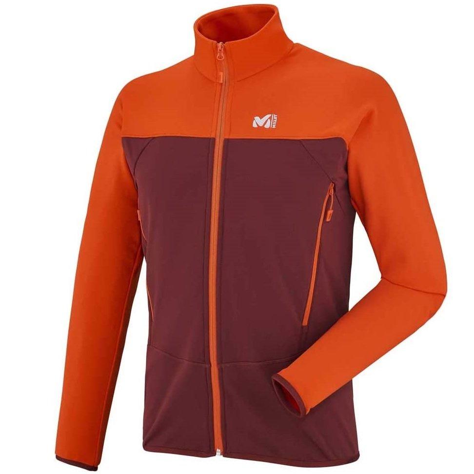 millet-technostretch-jacket-burgundy-veste-polaire-homme