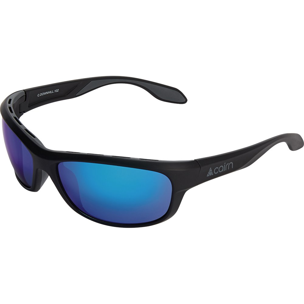 cairn-downhill-mat-black-graphite-lunette-soleil-vtt