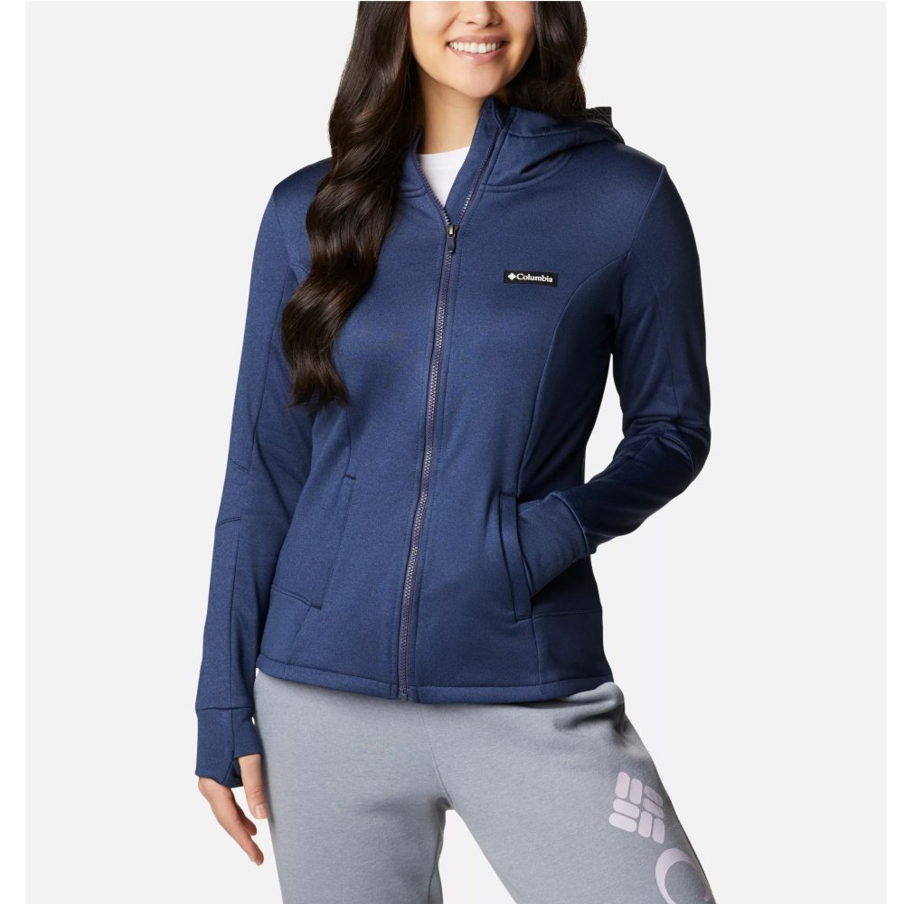 columbia-windgate-tech-fleece-hoodie-nocturnal-blue-veste-polaire-femme-1