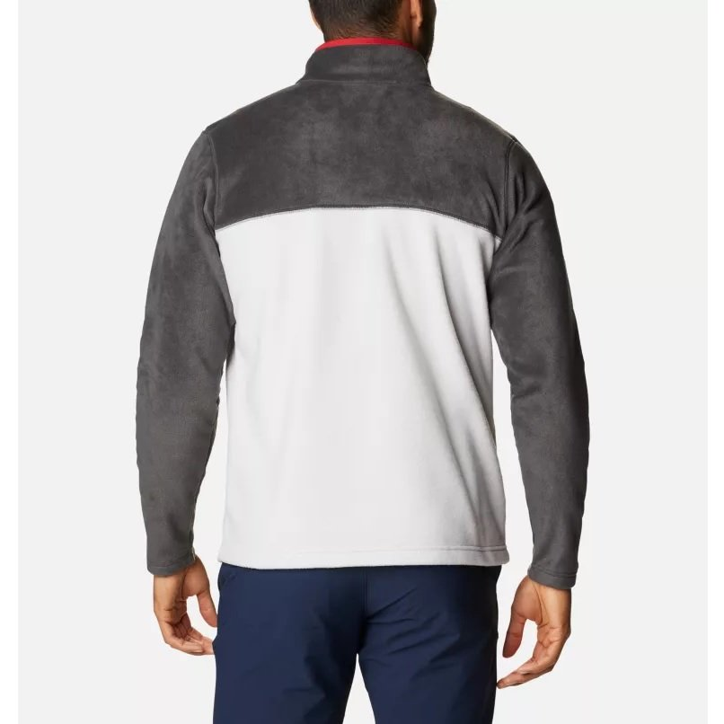 columbia-steens-mountain-half-snap-fleece-nimbus-grey-pull-polaire-homme-2